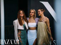 Các fashionista chuộng mốt hở eo tại tuần lễ thời trang New York Xuân Hè 2022