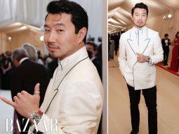 Diễn viên Shang-Chi Simu Liu dự Met Gala 2021 để lập tuyên ngôn về vẻ đẹp châu Á