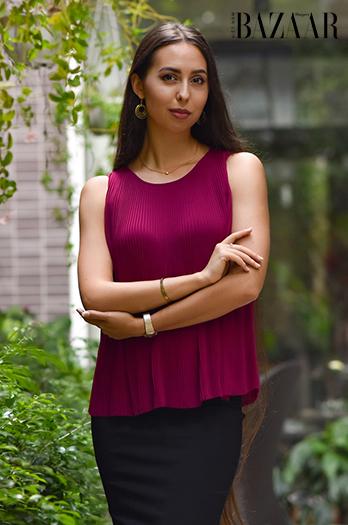 Hãy bình chọn cho Daria Spitsyna, cô gái Nga ở TP. Hồ Chí Minh, tại cuộc thi Miss Office 2021