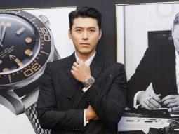 Hyun Bin dự triển lãm đồng hồ yêu thích của James Bond, Omega Seamaster
