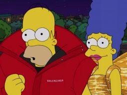Balenciaga đưa hoạt hình The Simpsons rất Mỹ đến tuần lễ thời trang Paris