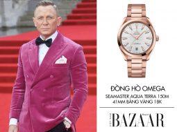 Đồng hồ Omega là ngôi sao thảm đỏ ra mắt phim 007: Không phải lúc chết