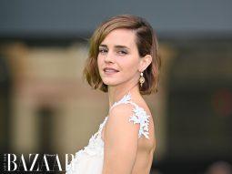 Emma Watson tái xuất thảm đỏ năm 2021 với các mẫu đầm làm từ vật liệu tái chế