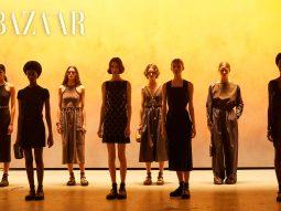 Hermès Xuân Hè 2022: Mặt trời lặn trên sân bay Paris