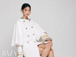 """Jung Ho Yeon của """"Trò chơi con mực"""" trở thành đại sứ toàn cầu Louis Vuitton"""