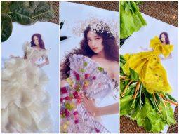 Bảo Hà diện váy công chúa bánh xèo, sương sa hột lựu của Nguyễn Minh Công