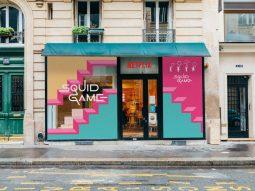 Dân Pháp xếp hàng nhiều tiếng đồng hồ để trải nghiệm pop up Squid Game ở Paris