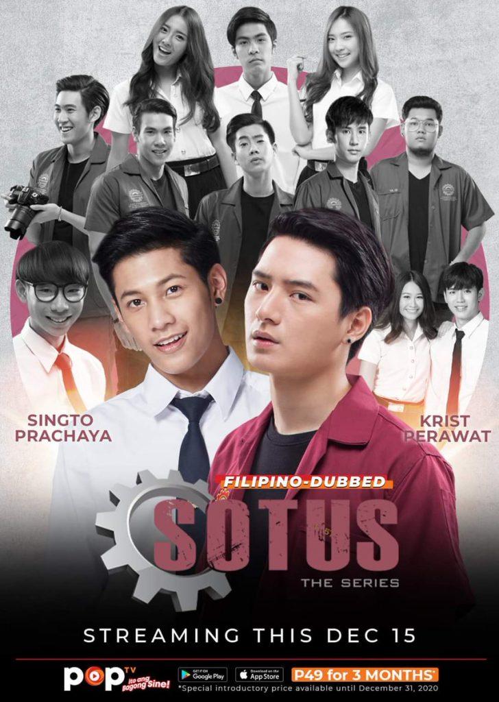 Những bộ phim đam mỹ Thái Lan hay nhất 2016:SOTUS