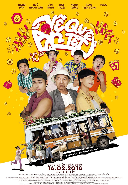 Phim hài Việt Nam chiếu rạp: Về quê ăn Tết
