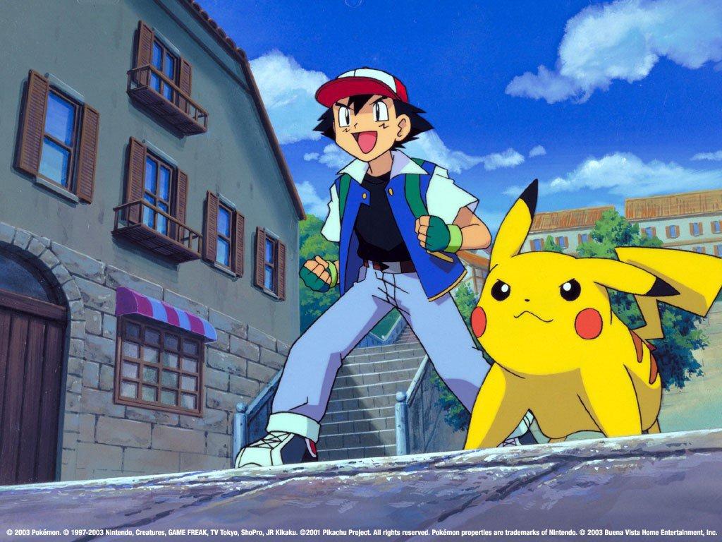 Những bộ phim hoạt hình gắn liền với tuổi thơ:Pokemon