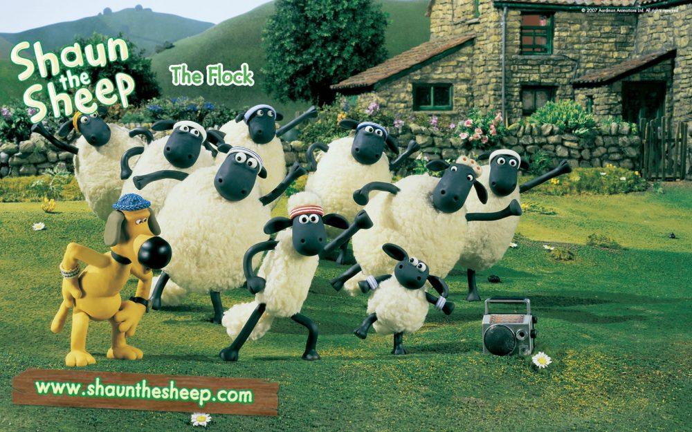Cừu quê ra phố - Shaun the sheep (2007)
